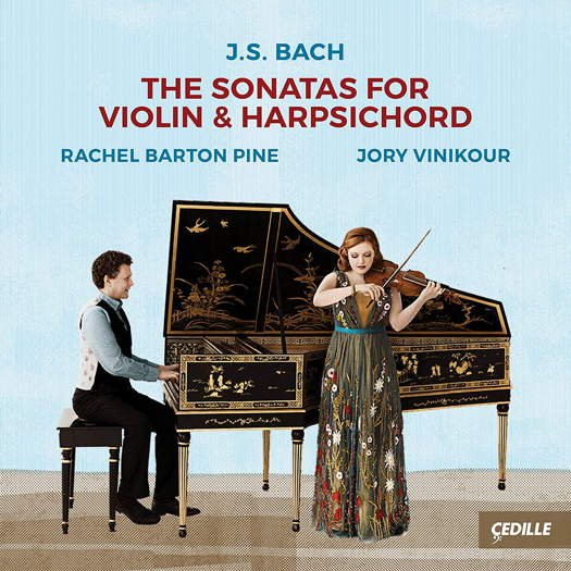 J S Bach: The Sonatas for Violin and Harpsichord. © 2018 Cedille Records (CDR 90000 177)