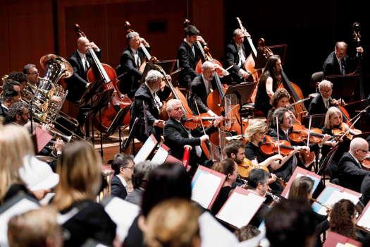 Members of the Orchestra dell'Accademia Nazionale di Santa Cecilia. Photo © 2019 Musacchio, Ianniello & Pasqualini