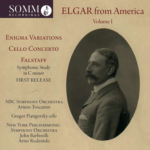 Elgar from America Volume 1