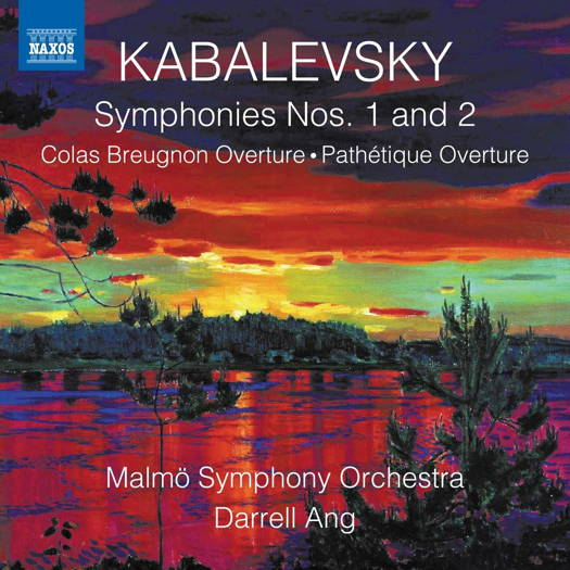 Kabalevsky: Symphonies Nos 1 and 2. © 2019 Naxos Rights (Europe) Ltd (8.573859)