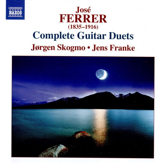 José Ferrer: Complete Guitar Duets. © 2019 Naxos Rights (Europe) Ltd (8.574011)