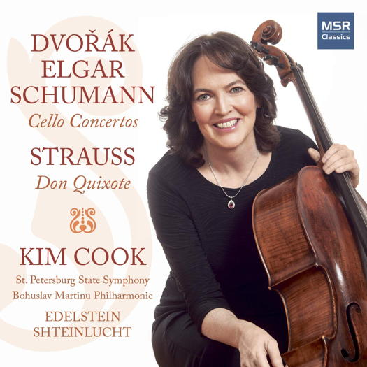 Elgar, Schumann, Dvořák and Strauss - Kim Cook. © 2018 Kim Cook (MS 1637)
