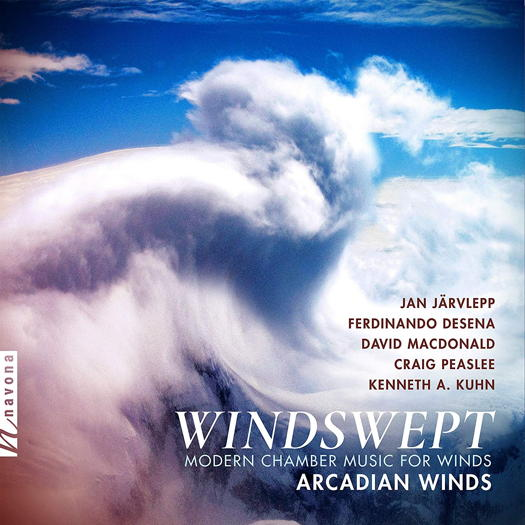 Windswept - Modern Chamber Music for Winds - Arcadian Winds. © 2019 Navona Records LLC (NV6245)