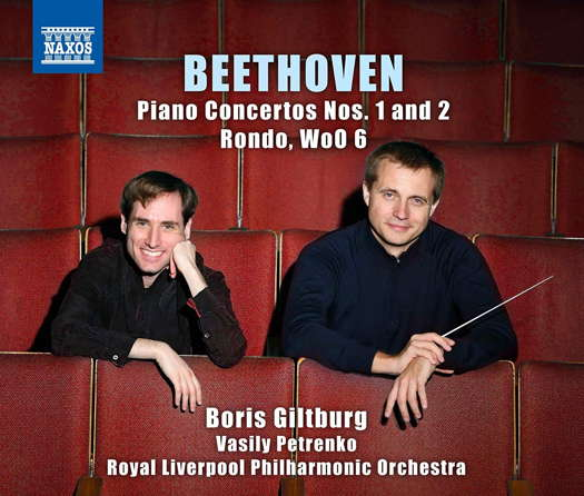 Beethoven: Piano Concertos Nos 1 and 2. © 2019 Naxos Rights (Europe) Ltd (8.574151)