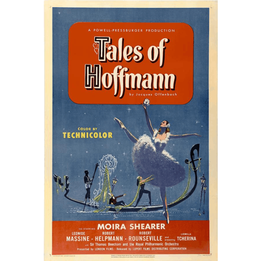 Poster for the 1951 film 'The Tales of Hoffmann'