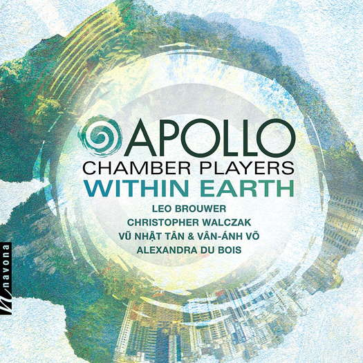 Apollo Chamber Players - Within Earth. © 2019 Navona Records LLC