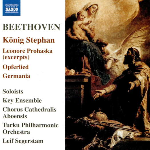 Beethoven: König Stephan. © 2019, 2020 Naxos Rights (Europe) Ltd (8.574042)