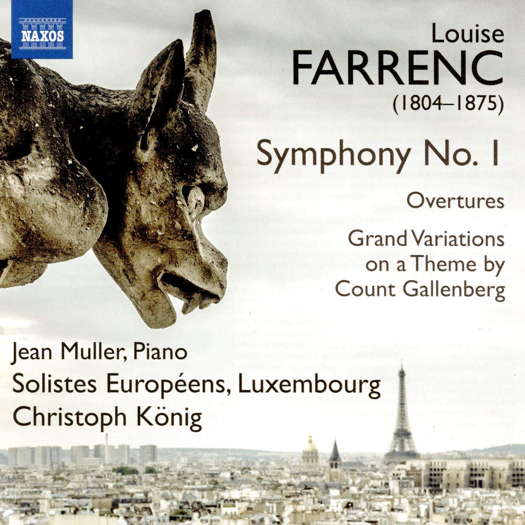 Farrenc: Symphony No 1; Overtures. © 2020 Naxos Rights (Europe) Ltd (8.574094)