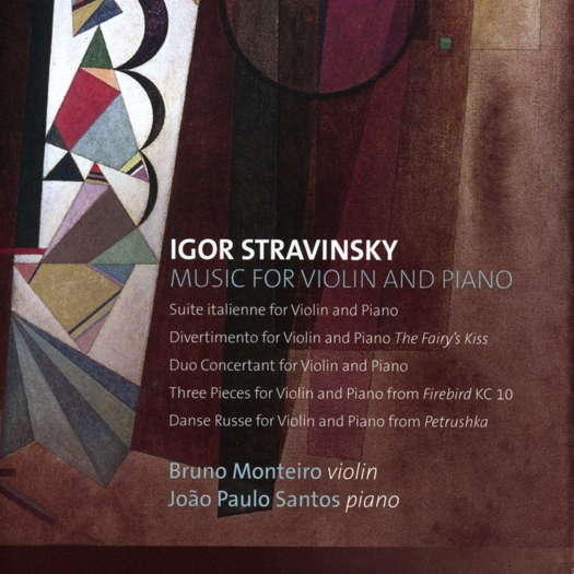Stravinsky: Music for Violin and Piano. © 2020 Quintessence BVBA (KTC 1682)