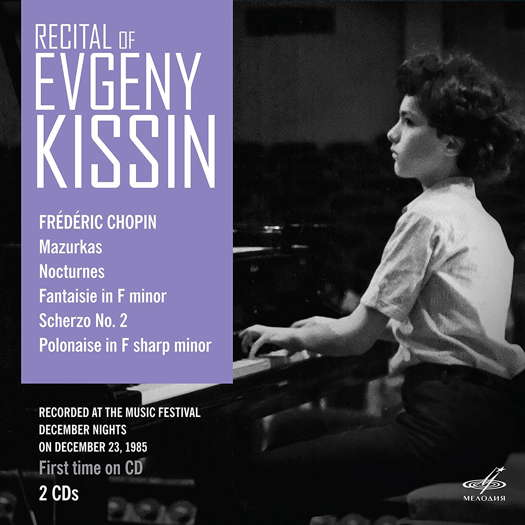 Recital of Evgeny Kissin - Chopin. © 2019 Melodiya (MEL CD 10 02631)
