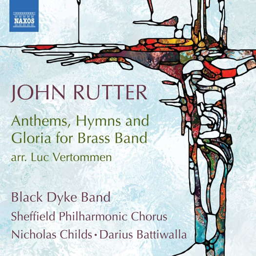 Rutter: Anthems, Hymns and Gloria for Brass Band. © 2020 Naxos Rights (Europe) Ltd (8.574130)