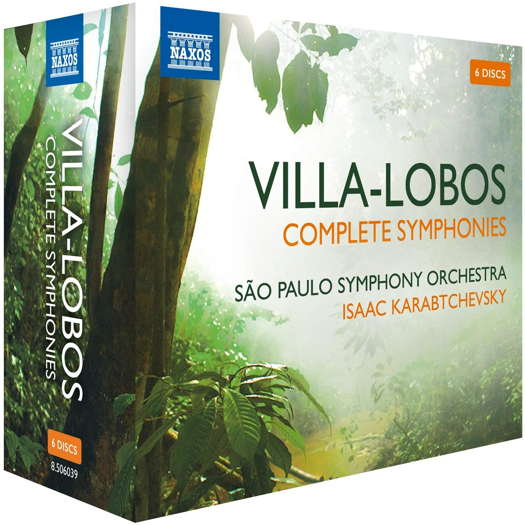 Villa-Lobos: Complete Symphonies. © 2012-2017 and 2020 Naxos Rights US Inc (8.506039)