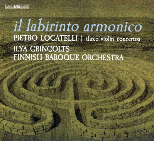 Locatelli: Three Violin Concertos - Gringolts