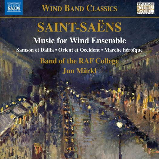 Saint-Saëns: Music for Wind Ensemble. © 2021 Naxos Rights (Europe) Ltd (8.574234)